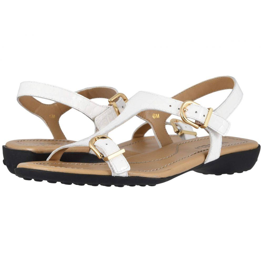 ヴァネリ Vaneli レディース サンダル・ミュール シューズ・靴【Taletha】White Polinesia Patent Print