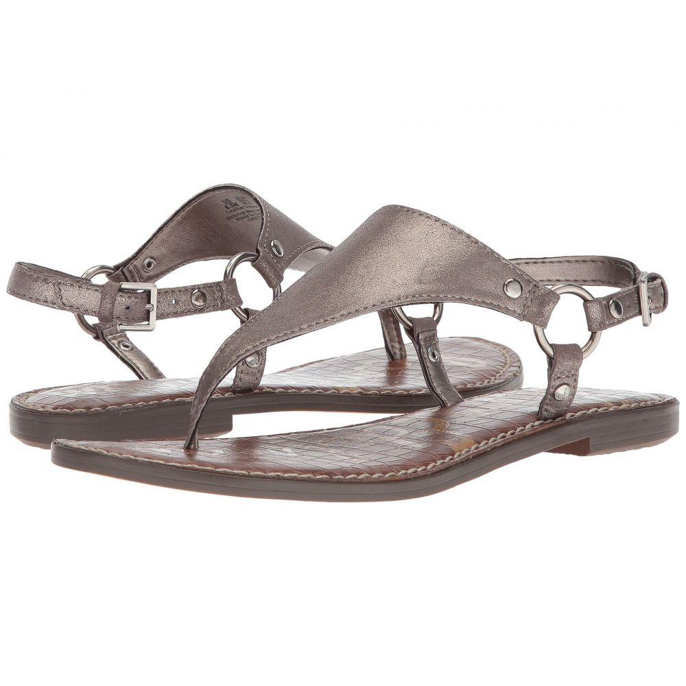 サム エデルマン Sam Edelman レディース サンダル・ミュール シューズ・靴【Greta】Pewter Dreamy Metallic Leather