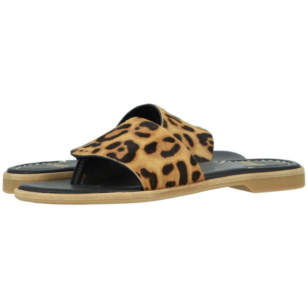 ジョンストン&マーフィー Johnston & Murphy レディース サンダル・ミュール シューズ・靴【Raney】Leopard Haircalf