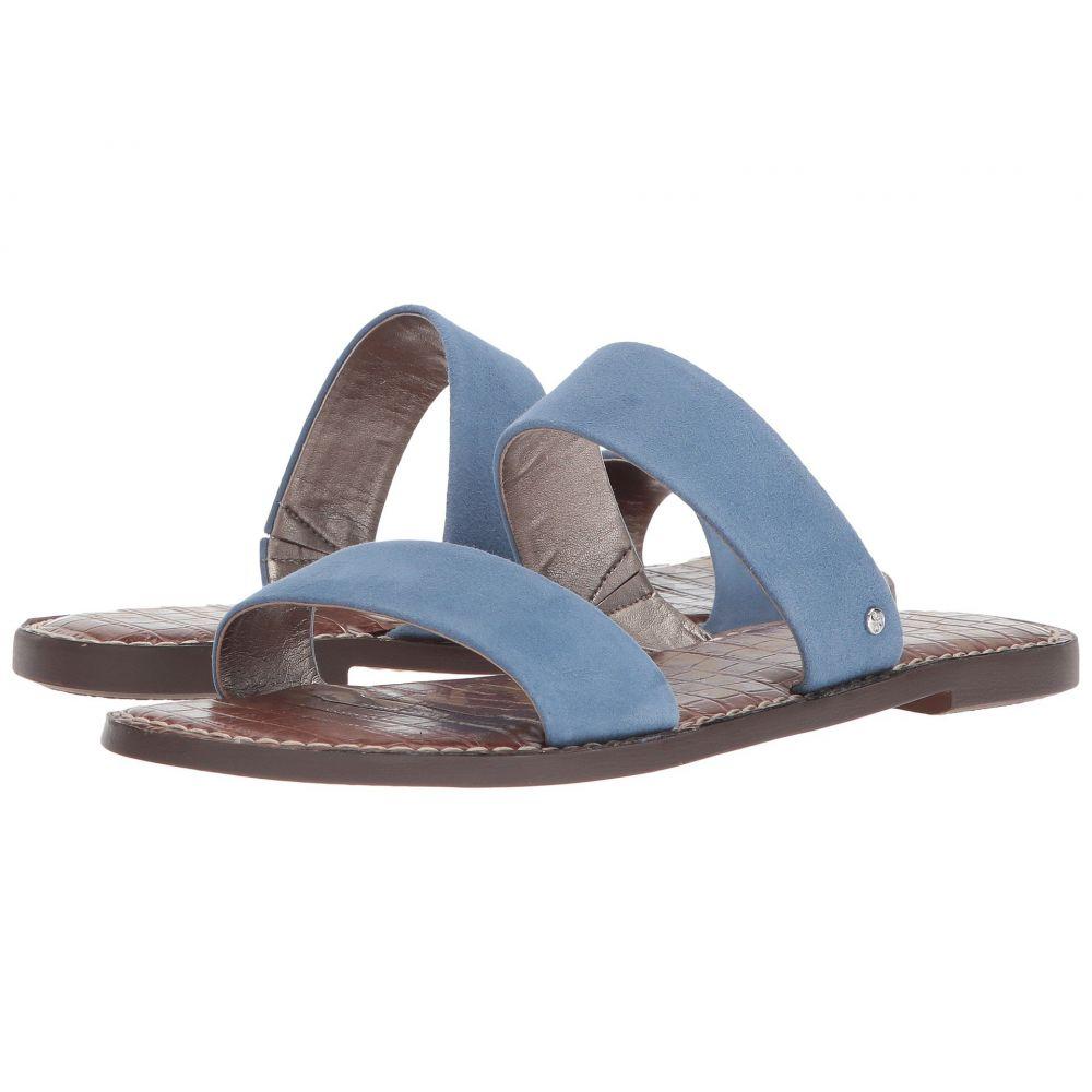 サム エデルマン Sam Edelman レディース サンダル・ミュール シューズ・靴【Gala】Denim Blue Suede Leather