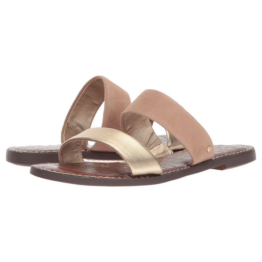 サム エデルマン Sam Edelman レディース サンダル・ミュール シューズ・靴【Gala】Gold/Nude Metallic Leather/Suede Leather
