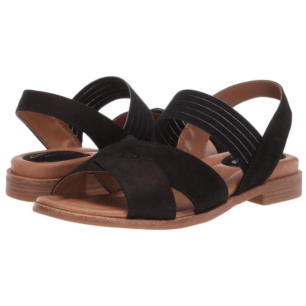 コンフォーティヴァ Comfortiva レディース サンダル・ミュール シューズ・靴【Dixie】Black Otago Nubuck