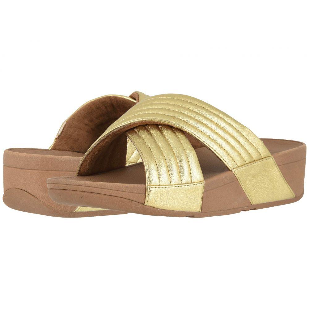 フィットフロップ FitFlop レディース サンダル・ミュール シューズ・靴【Lulu Padded】Artisan Gold