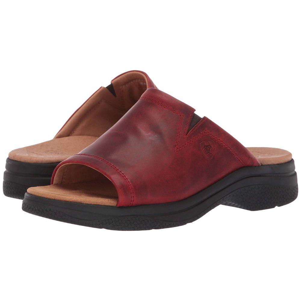アリアト Ariat レディース サンダル・ミュール シューズ・靴【Bridgeport Sandal】Red