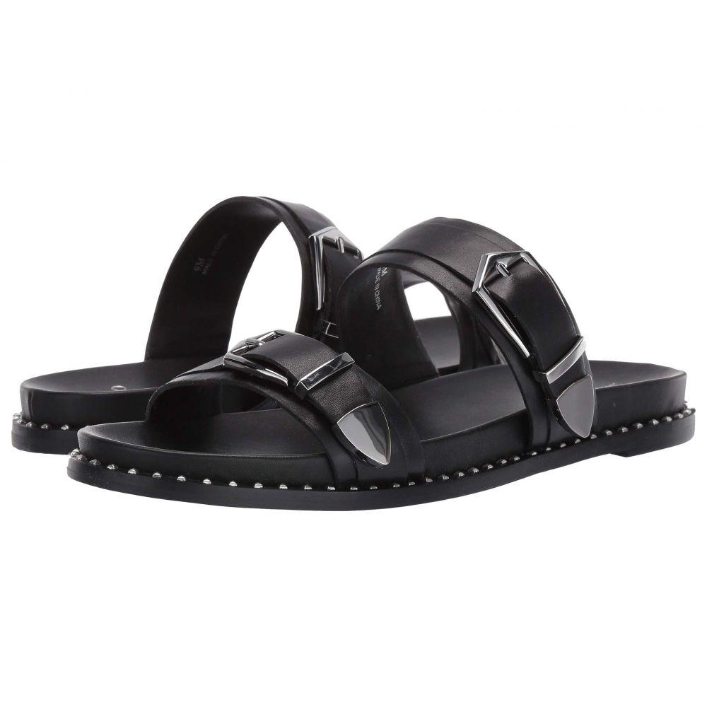リネアパウロ LINEA Paolo レディース サンダル・ミュール シューズ・靴【Rae Buckle Sandal】Black Nappa