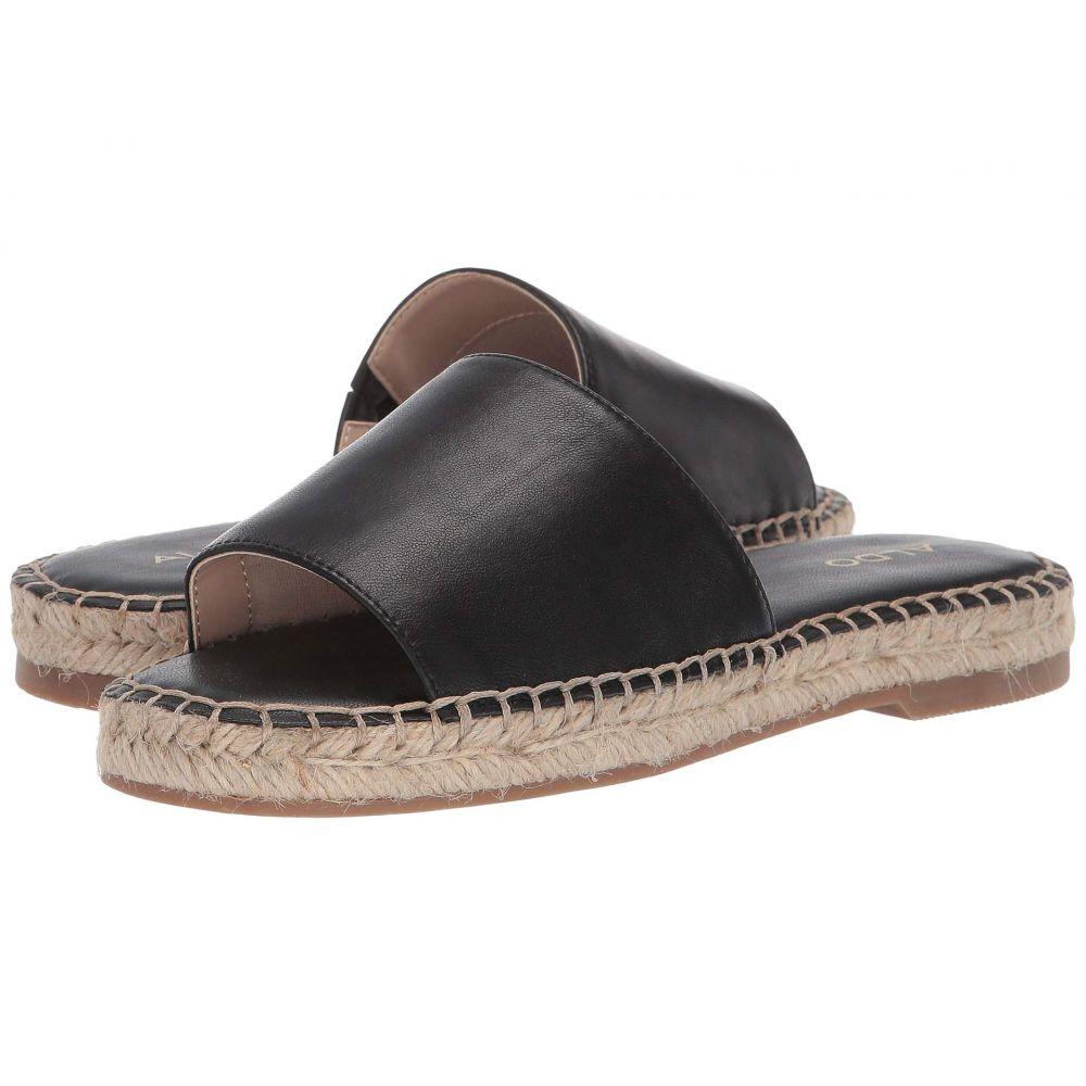 アルド ALDO レディース サンダル・ミュール シューズ・靴【Lovadoni】Black Leather