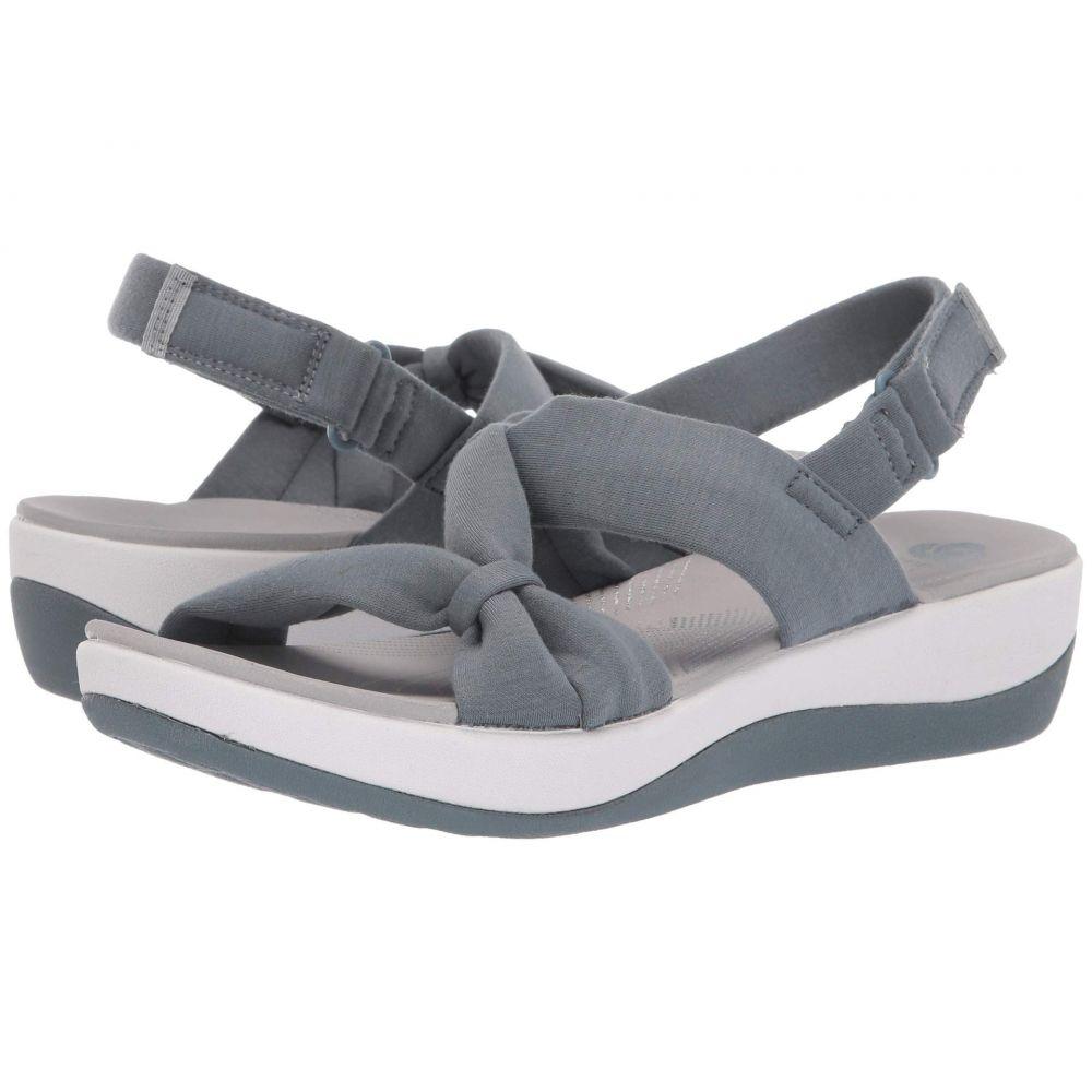 クラークス Clarks レディース サンダル・ミュール シューズ・靴【Arla Primrose】Blue Grey Textile