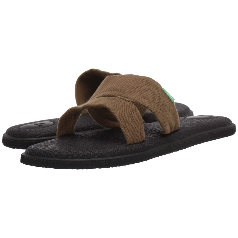 サヌーク Sanuk レディース ヨガ・ピラティス クロップド シューズ・靴【Yoga Mat Capri】Dark Olive