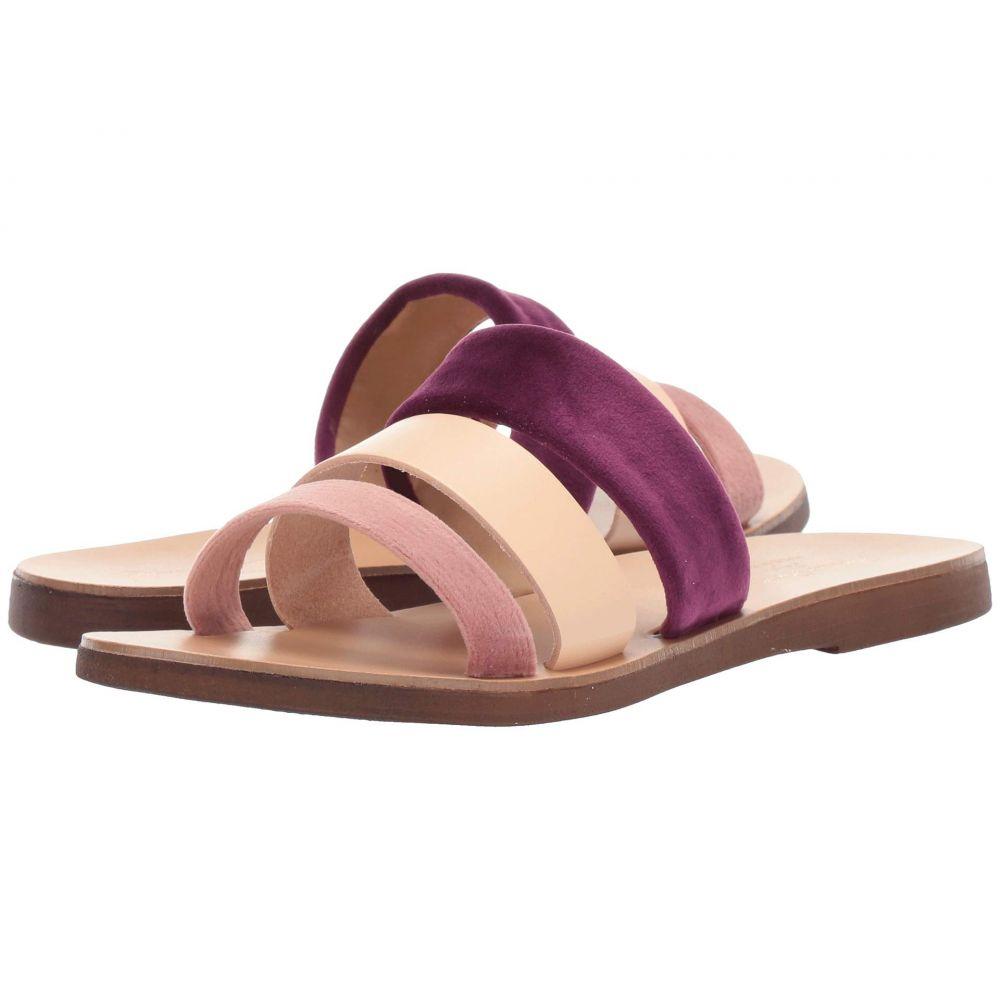 マッテオ マッシモ Massimo Matteo レディース サンダル・ミュール シューズ・靴【Multicolor 3 Band Sandal】Rosa/Chiaro