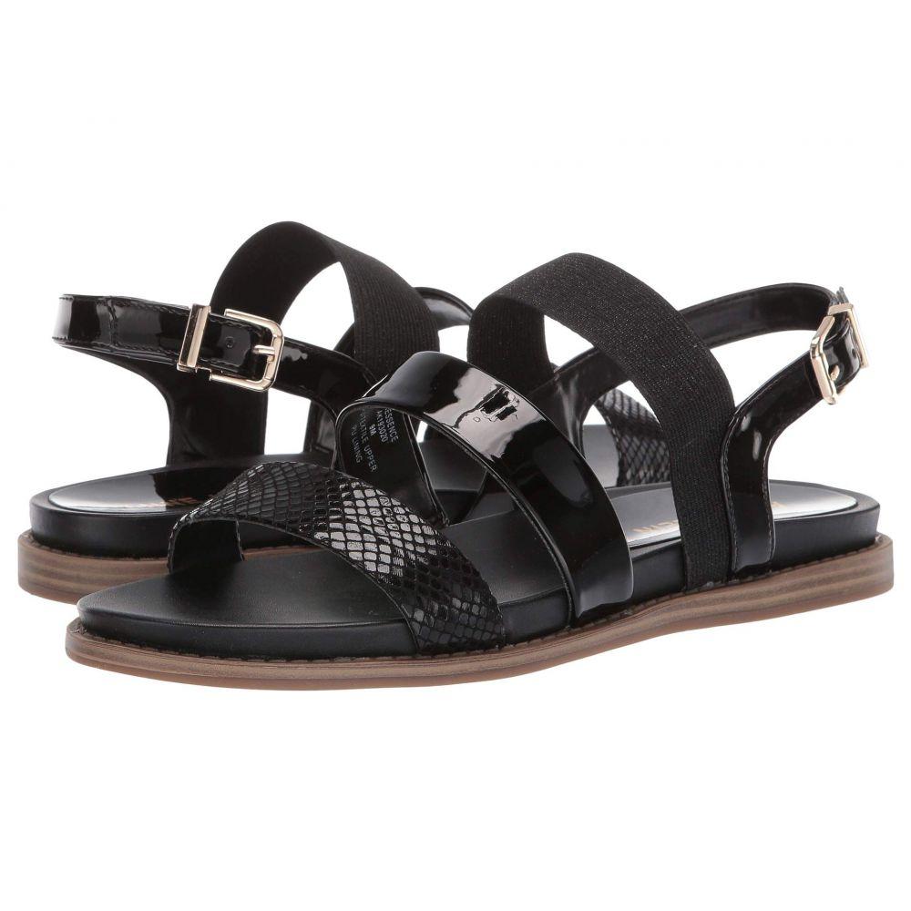 アン クライン Anne Klein レディース サンダル・ミュール フラット シューズ・靴【Essence Flat Sandal】Black