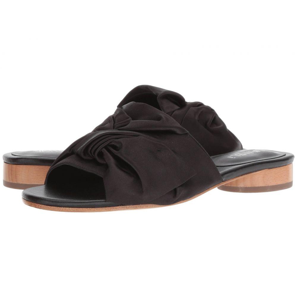 ヴァネリ Vaneli レディース サンダル・ミュール シューズ・靴【Brede】Black Satin