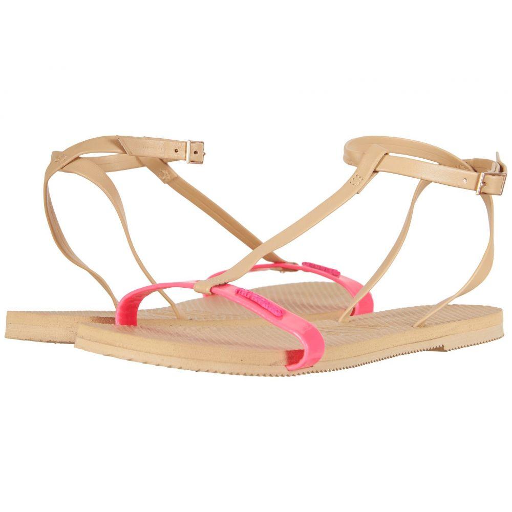 ハワイアナス Havaianas レディース ビーチサンダル シューズ・靴【You Belize Flip Flops】Shocking Pink