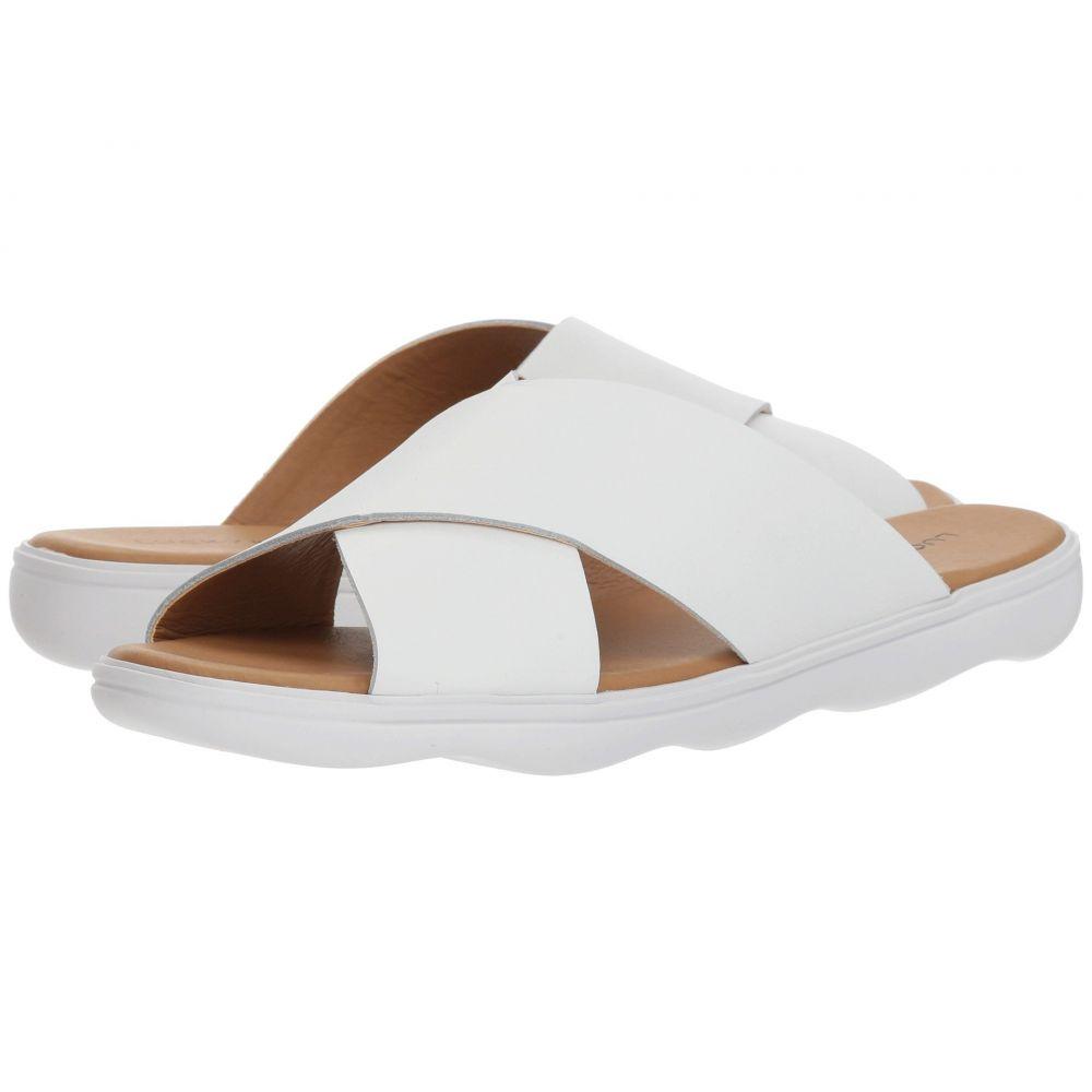 ラッキーブランド Lucky Brand レディース サンダル・ミュール シューズ・靴【Mahlay】Optic White Atando
