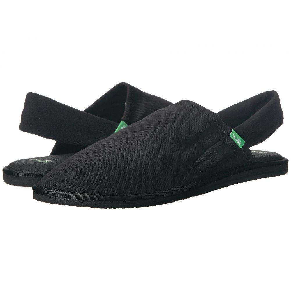 サヌーク Sanuk レディース ヨガ・ピラティス シューズ・靴【Yoga Sling Cruz】Black