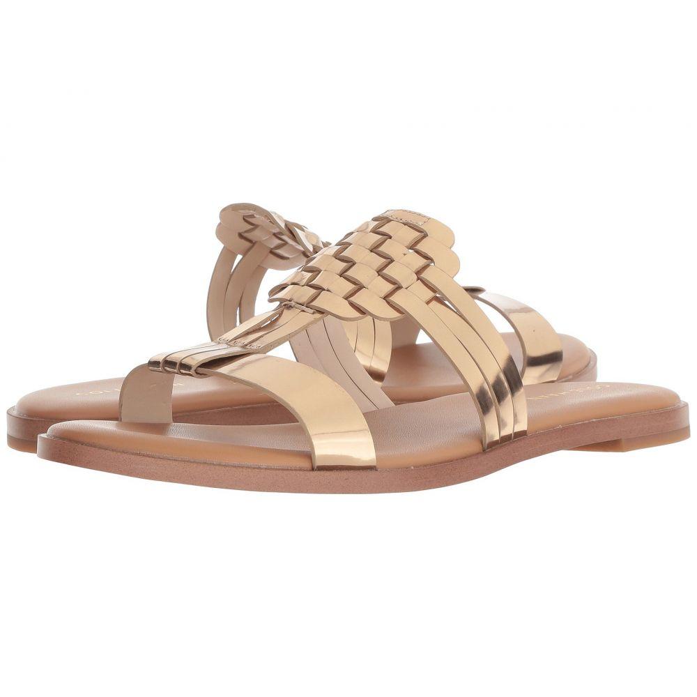 コールハーン Cole Haan レディース サンダル・ミュール シューズ・靴【Findra Woven Sandal】Signature Gold