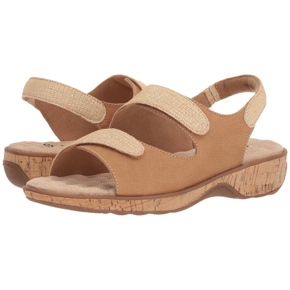ソフトウォーク SoftWalk レディース サンダル・ミュール シューズ・靴【Bolivia】Sand Embossed Leather