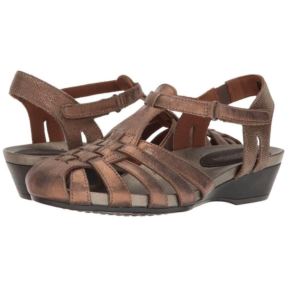 アラヴォン Aravon レディース サンダル・ミュール シューズ・靴【Standon Fisherman】Bronze