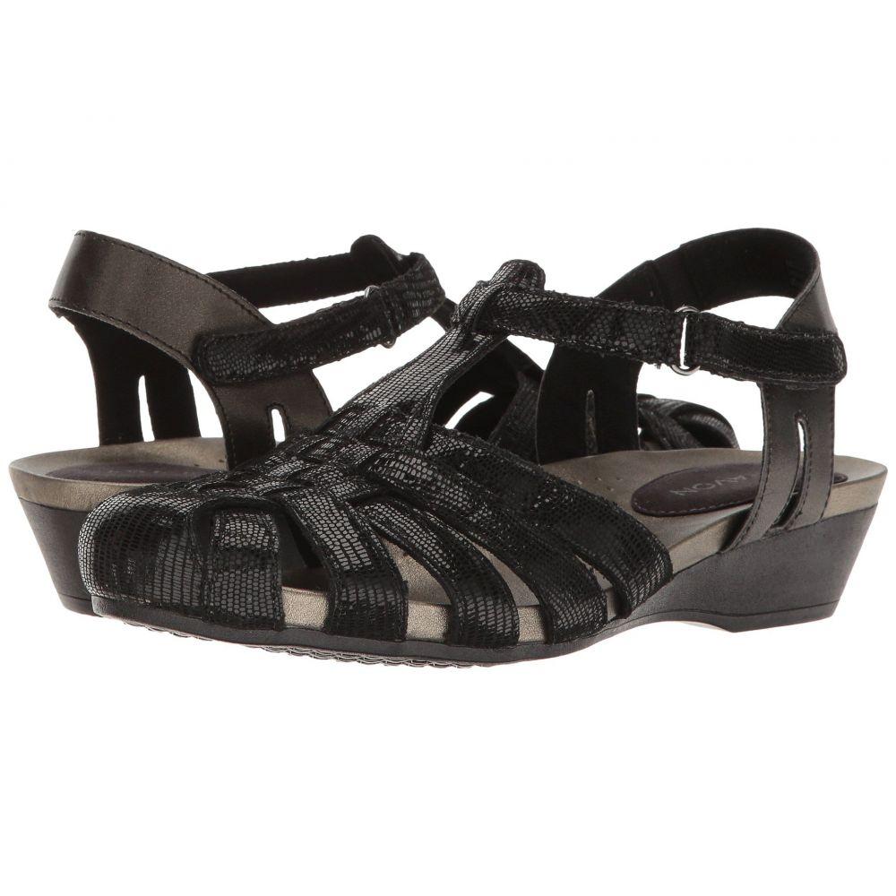 アラヴォン Aravon レディース サンダル・ミュール シューズ・靴【Standon Fisherman】Black