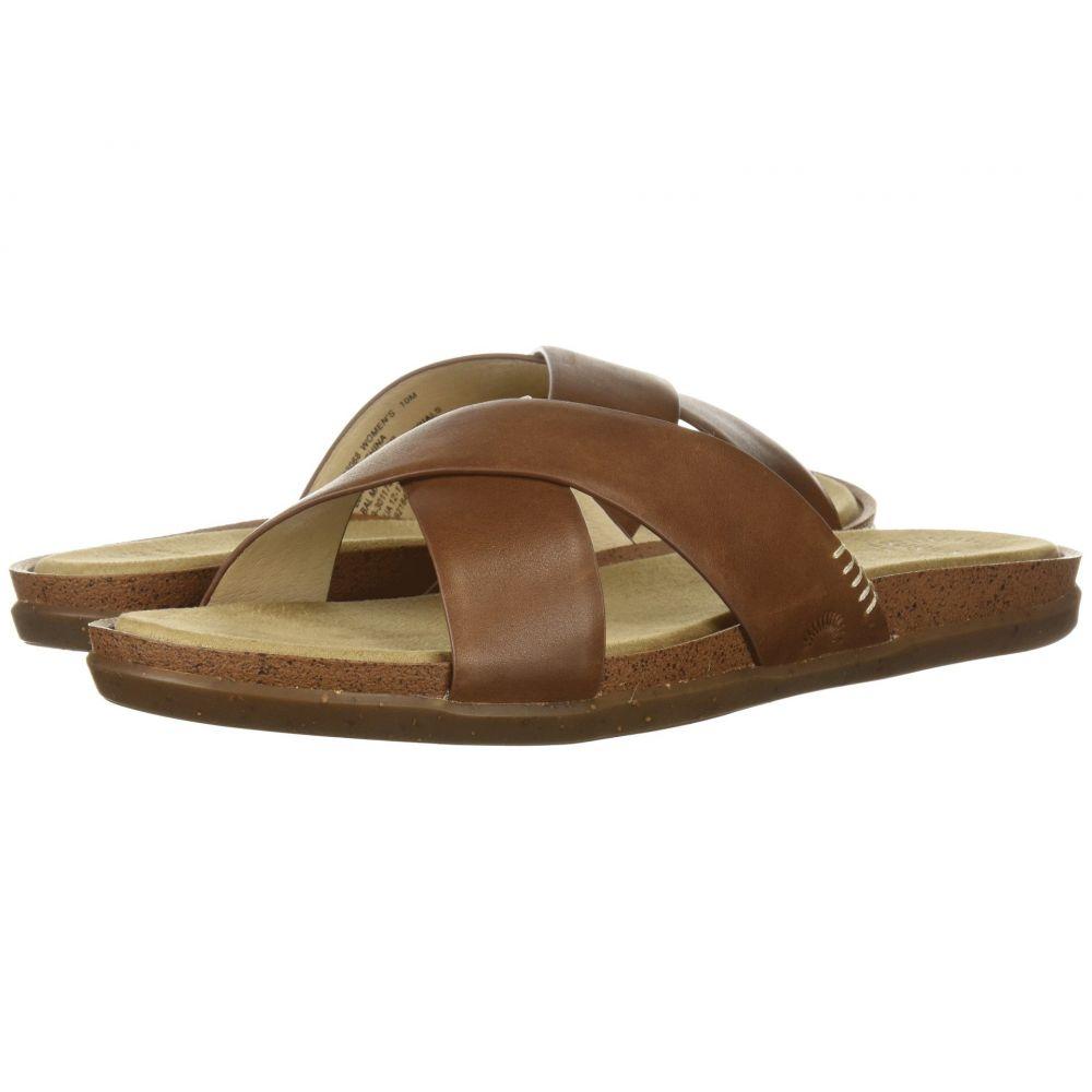 ジーエイチ バス G.H. Bass & Co. レディース サンダル・ミュール シューズ・靴【Stella】Brown Leather