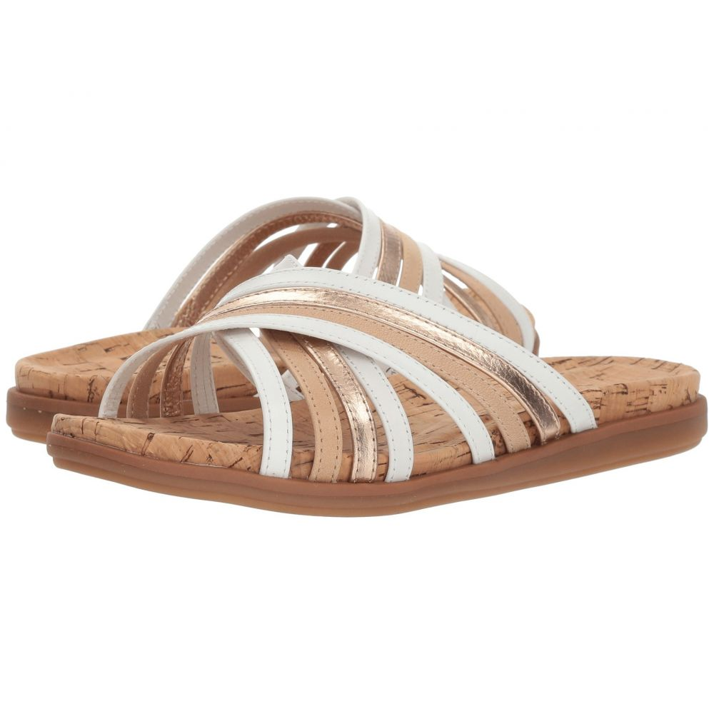 コンフォーティヴァ Comfortiva レディース サンダル・ミュール シューズ・靴【Cayce】White Multi
