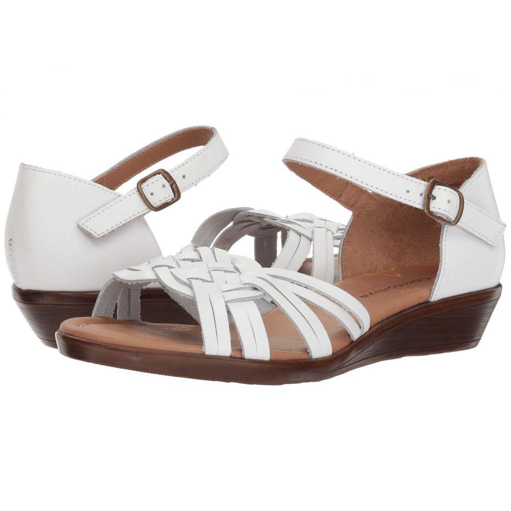 コンフォーティヴァ Comfortiva レディース サンダル・ミュール シューズ・靴【Fortune】White