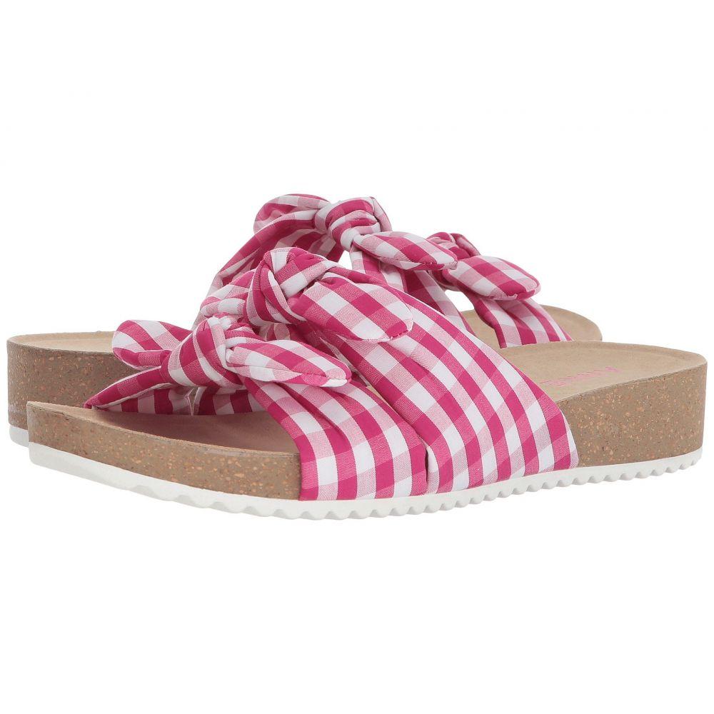 アン クライン Anne Klein レディース サンダル・ミュール シューズ・靴【Quilt】Dark Pink/White Fabric
