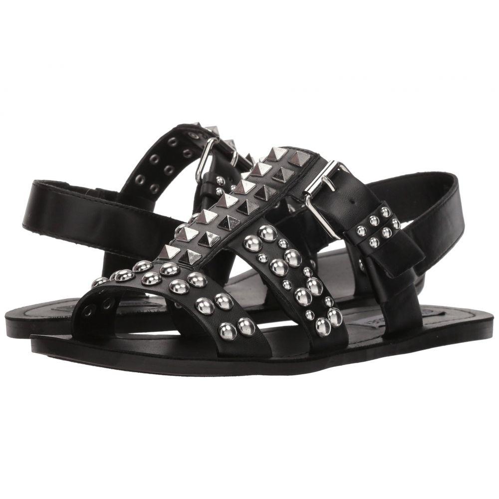 スティーブ マデン Steve Madden レディース サンダル・ミュール フラット シューズ・靴【Sharon Flat Sandal】Black