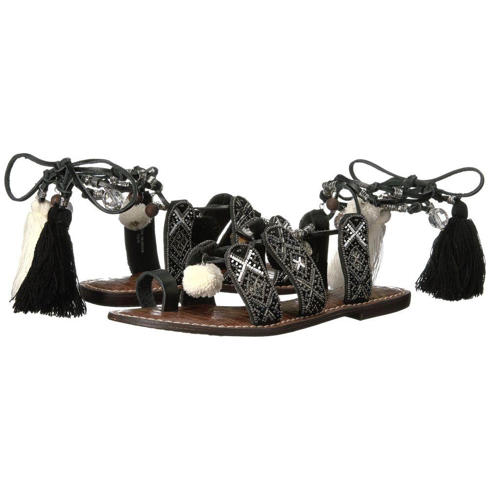 サム エデルマン Sam Edelman レディース サンダル・ミュール シューズ・靴【Gem】Silver Multi Pom Pom/Tassel/Veg Leather
