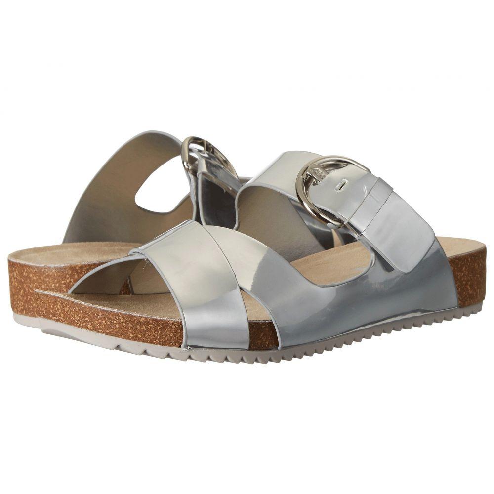 アン クライン Anne Klein レディース サンダル・ミュール シューズ・靴【Querly】Silver Synthetic