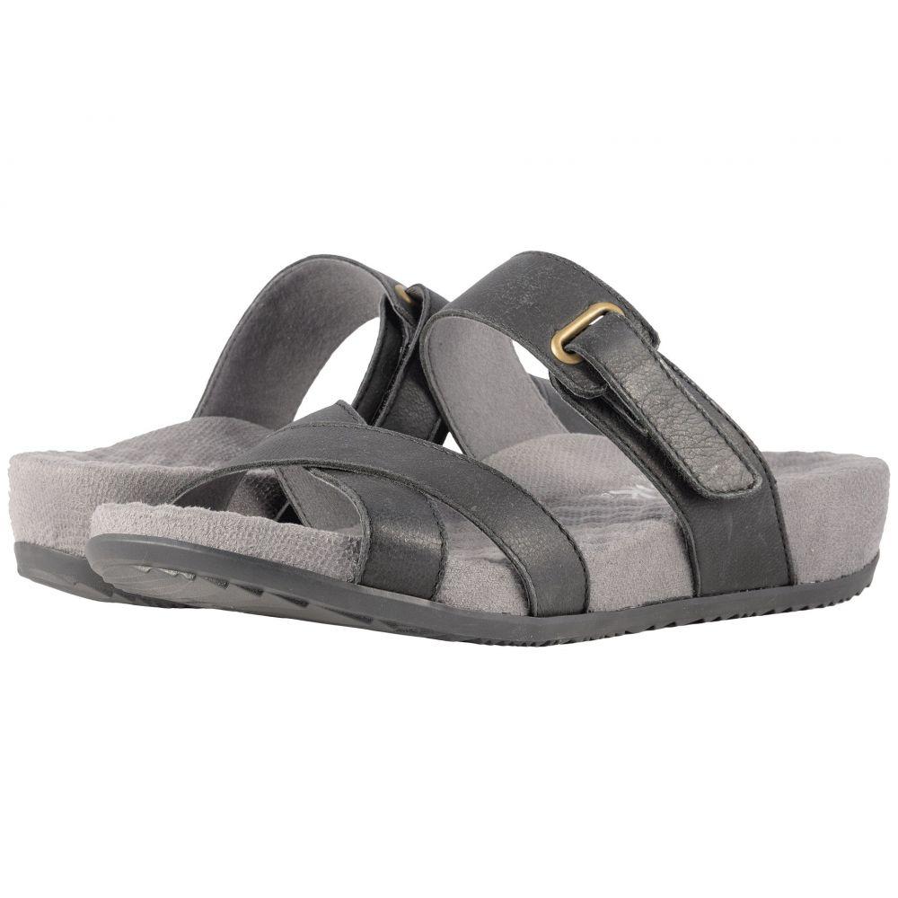 ソフトウォーク SoftWalk レディース サンダル・ミュール シューズ・靴【Brimley】Black Sandal Leather