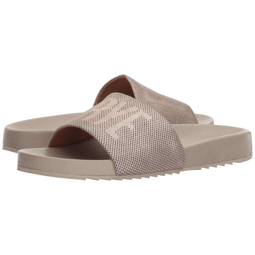 フライ Frye レディース サンダル・ミュール シューズ・靴【Lola Perf Logo Slide】Silver
