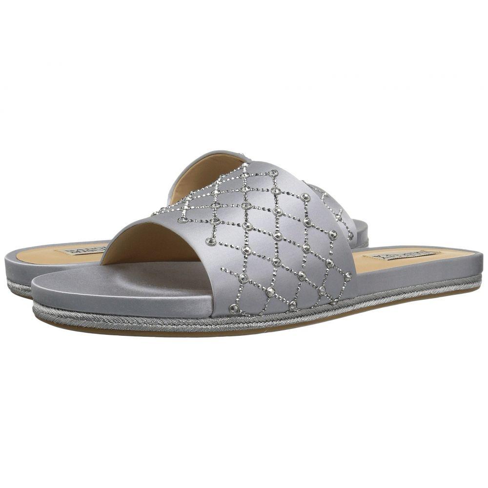 バッジェリー ミシュカ Badgley Mischka レディース サンダル・ミュール シューズ・靴【Shayna】Silver Satin