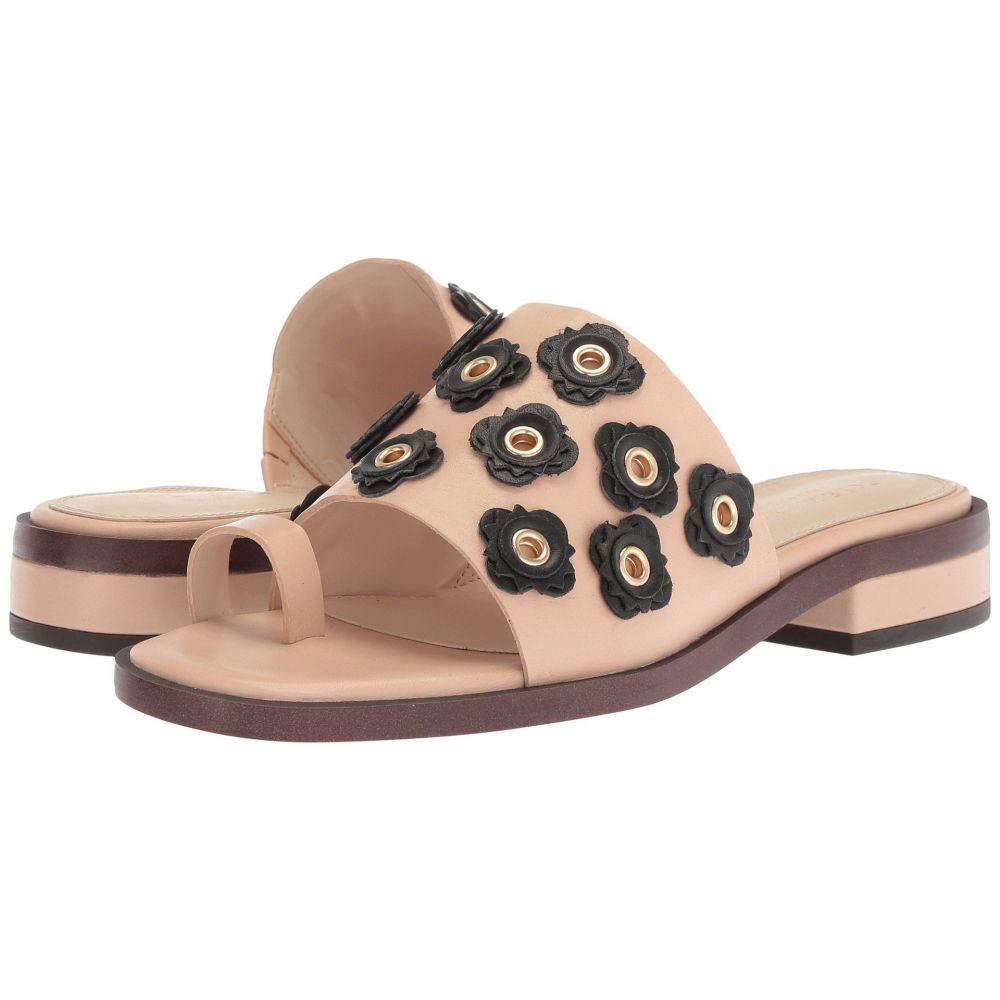 コールハーン Cole Haan レディース サンダル・ミュール シューズ・靴【Carly Floral Sandal】Nude/Black Leather