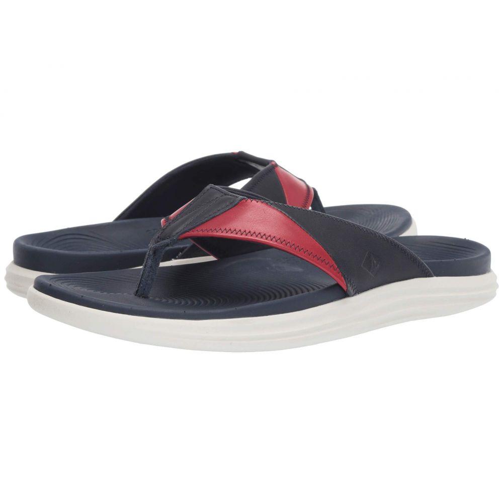 スペリー Sperry メンズ ビーチサンダル シューズ・靴【Regatta Thong】Red/White/Blue