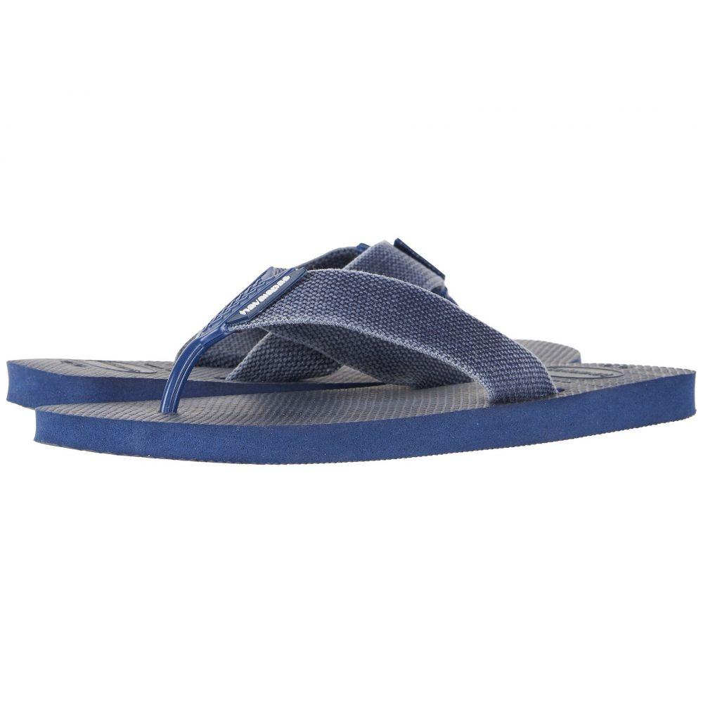 ハワイアナス Havaianas メンズ ビーチサンダル シューズ・靴【Urban Basic Flip Flops】Navy Blue/Indigo Blue