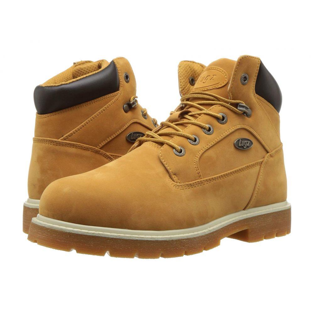 ラグズ Lugz メンズ ブーツ チャッカブーツ シューズ・靴【Mortar Mid Steel Toe Chukka Boot】Golden Wheat/Bark/Cream/Gum