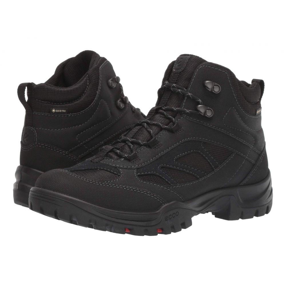 エコー Ecco Performance メンズ ハイキング・登山 シューズ・靴【Drak II GTX Mid】Black/Black