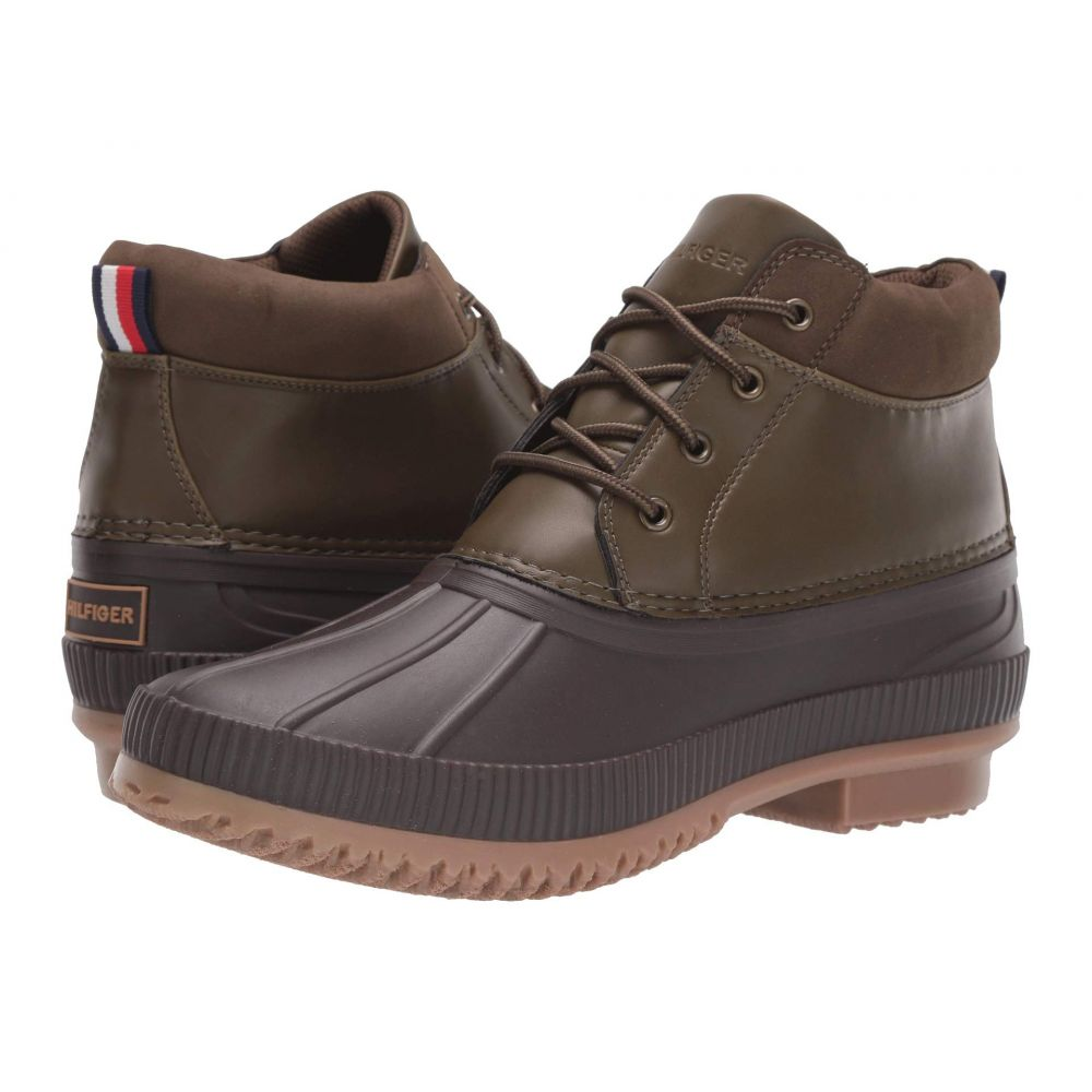 トミー ヒルフィガー Tommy Hilfiger メンズ レインシューズ・長靴 シューズ・靴【Celcius 3】Dark Brown