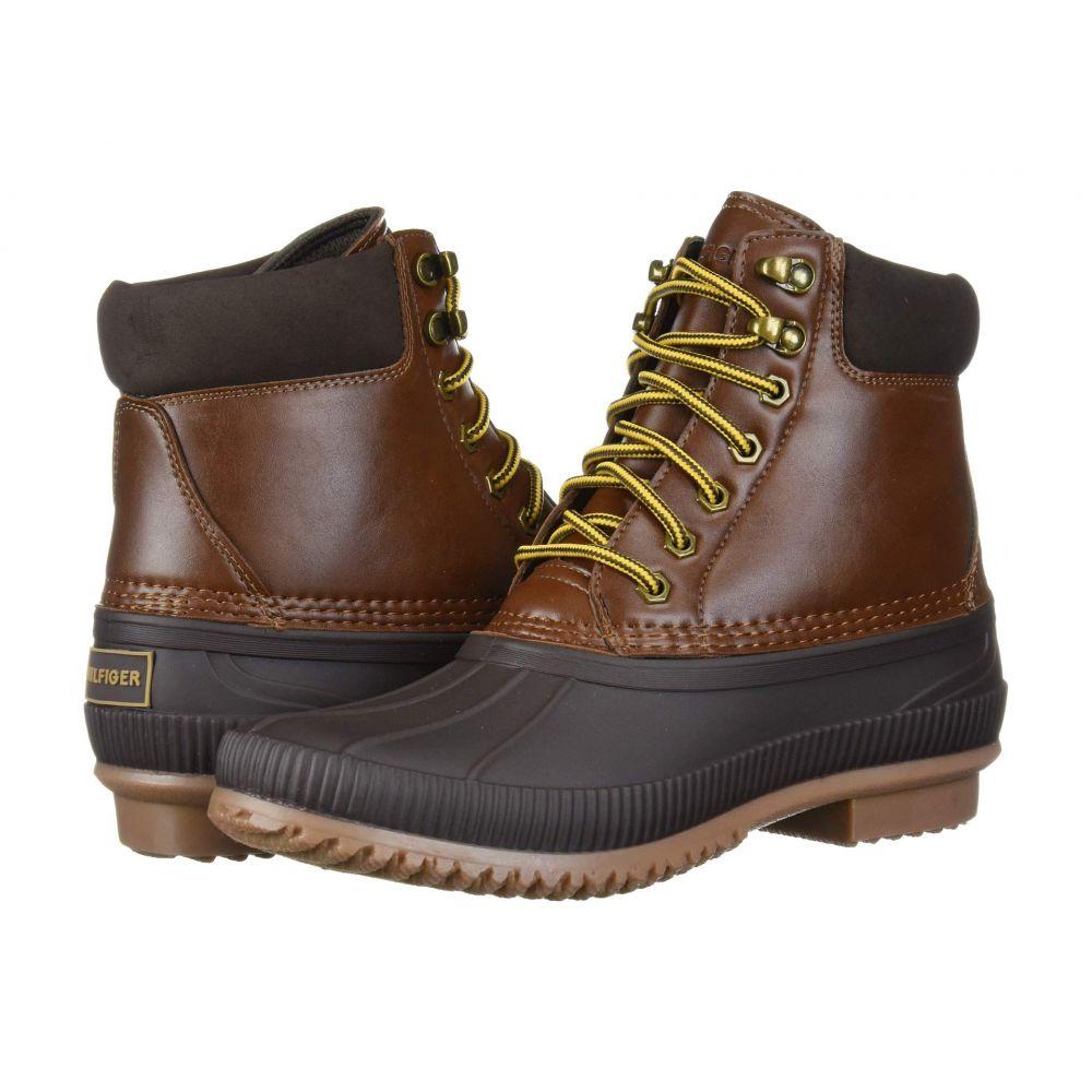 トミー ヒルフィガー Tommy Hilfiger メンズ レインシューズ・長靴 シューズ・靴【Colins 2】Brown Multi