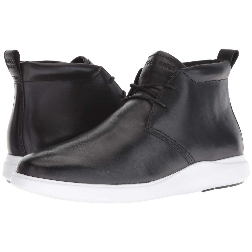 コールハーン Cole Haan メンズ ブーツ ウェッジソール チャッカブーツ シューズ・靴【Grand Plus Essex Wedge Chukka】Black/Optic White