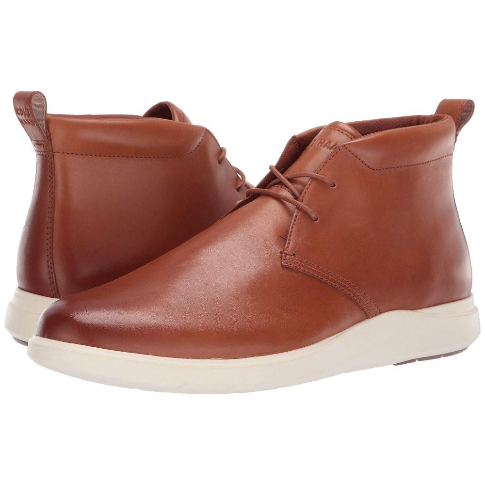 コールハーン Cole Haan メンズ ブーツ ウェッジソール チャッカブーツ シューズ・靴【Grand Plus Essex Wedge Chukka】British Tan/Ivory