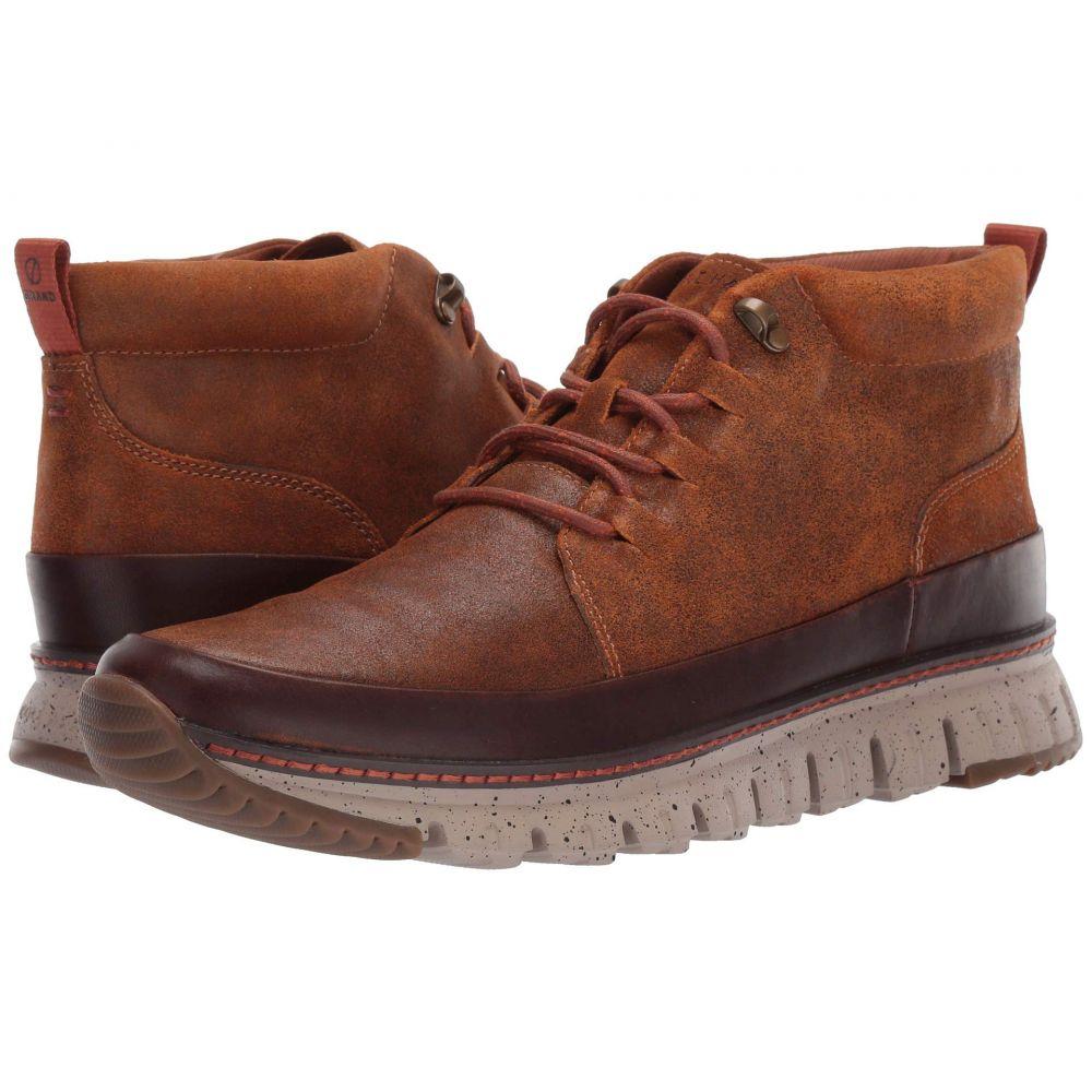 コールハーン Cole Haan メンズ ブーツ チャッカブーツ シューズ・靴【Zerogrand Rugged Chukka】British Tan/Cobble