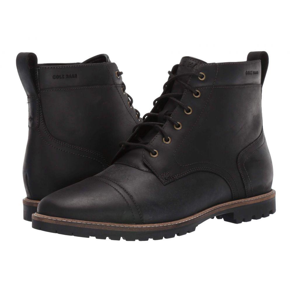 コールハーン Cole Haan メンズ ブーツ シューズ・靴【Nathan Cap Boot】Black