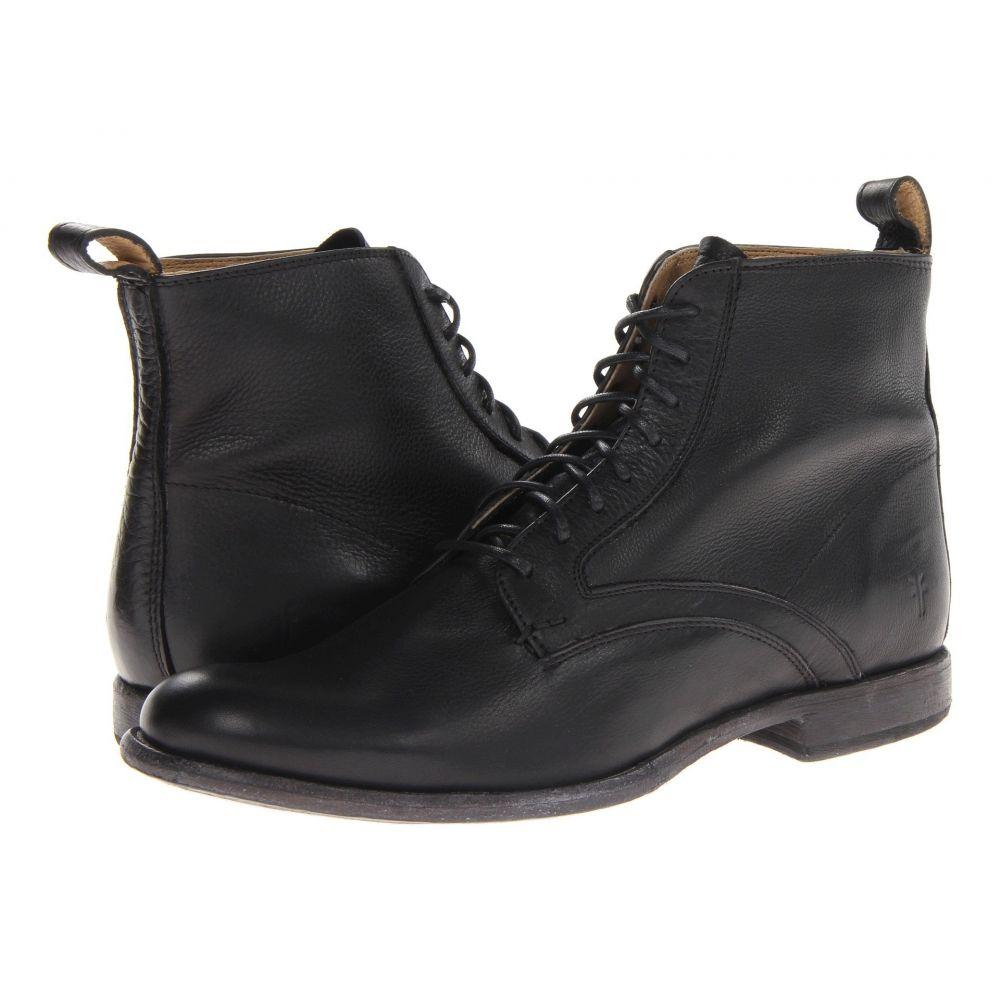 フライ Frye メンズ ブーツ レースアップ シューズ・靴【Phillip Lace Up】Black Soft Vintage Leather