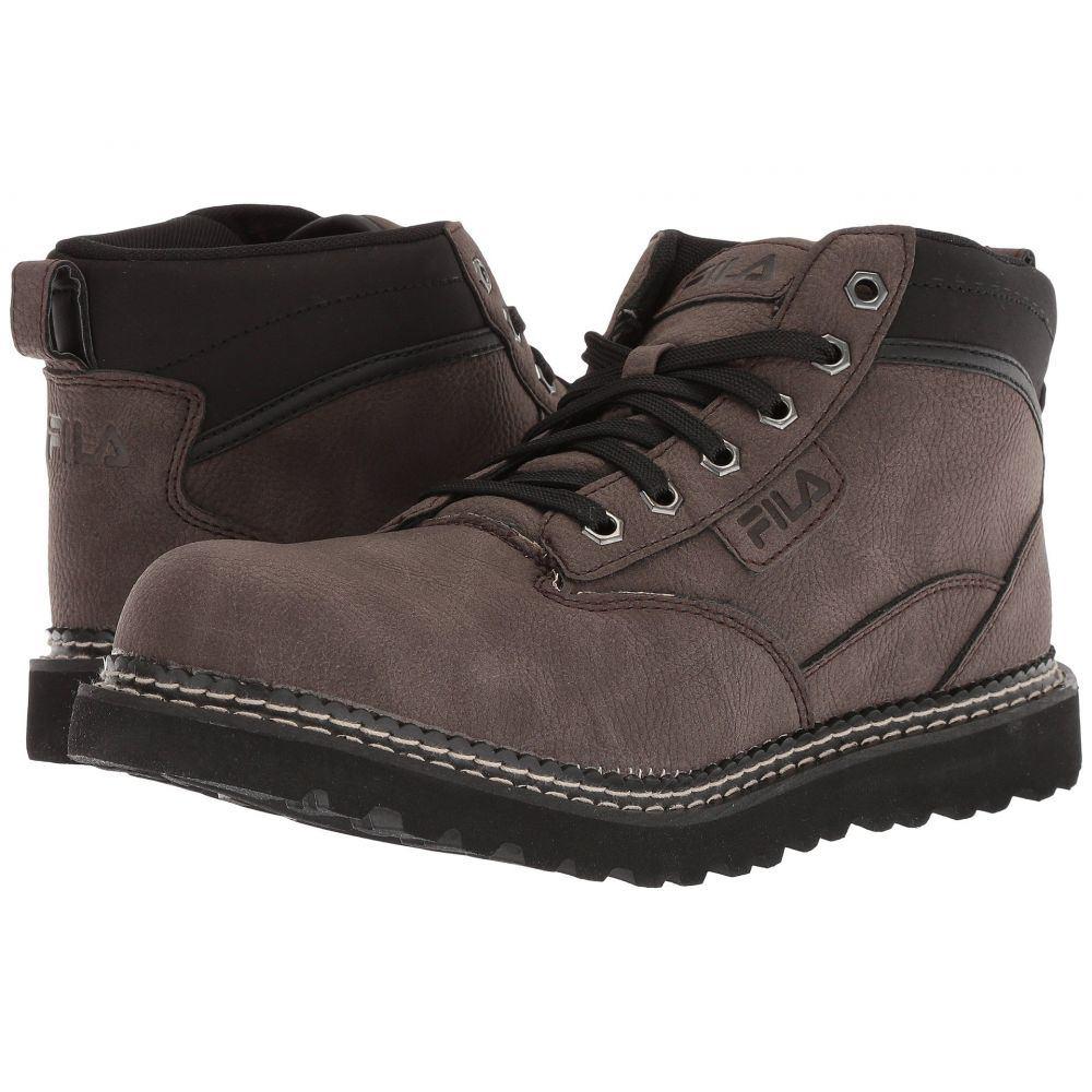 フィラ Fila メンズ ブーツ シューズ・靴【Grunson Boot】Espresso/Black/Dark Silver