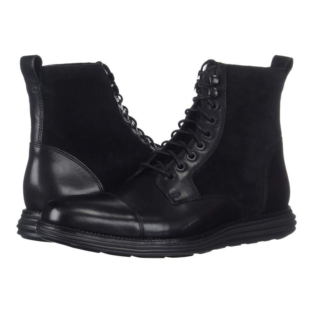 コールハーン Cole Haan メンズ ブーツ シューズ・靴【O.Original Grand Cap Toe Boot II】Black/Black