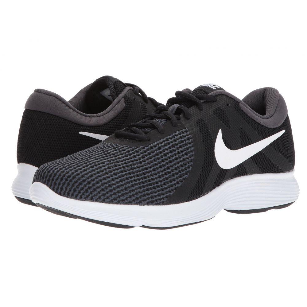 ナイキ Nike メンズ ランニング・ウォーキング シューズ・靴【Revolution 4】Black/White/Anthracite