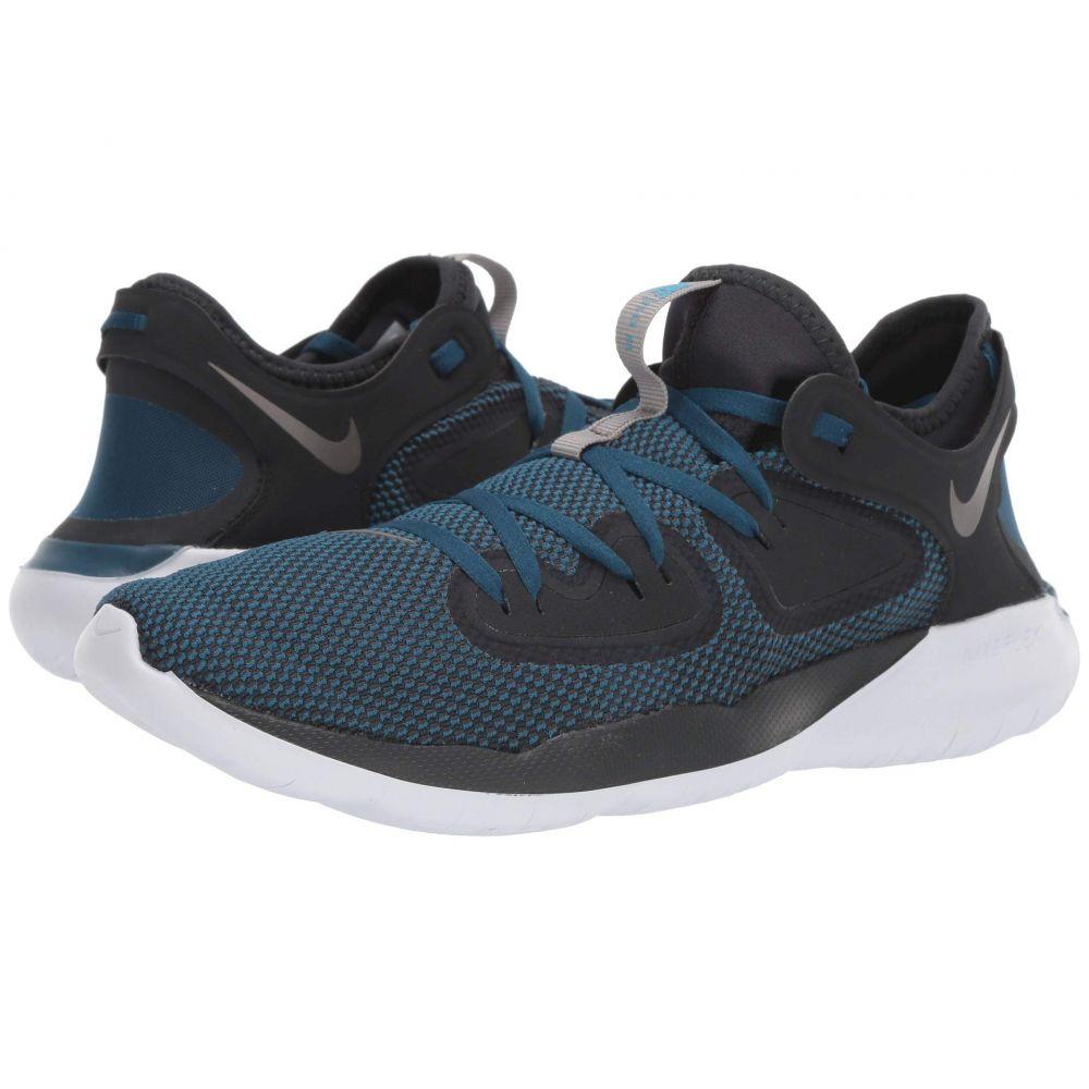 ナイキ Nike メンズ ランニング・ウォーキング シューズ・靴【Flex 2019 RN】Off-Noir/Metallic Pewter/Blue Force