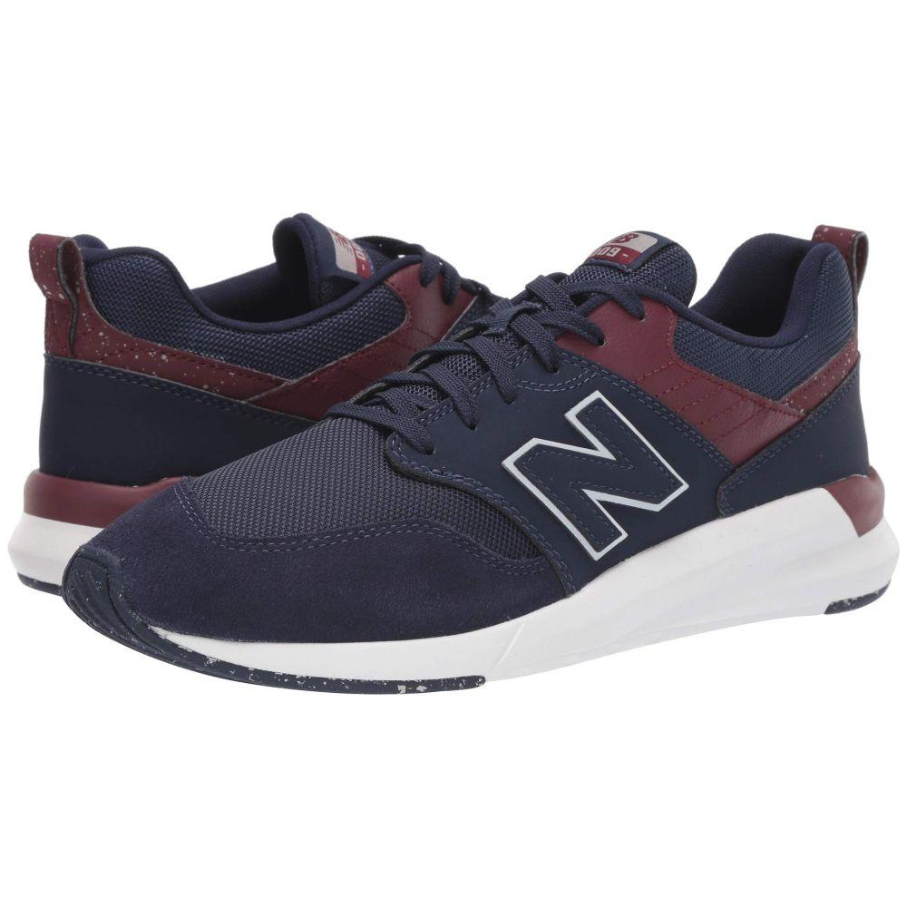 ニューバランス New Balance メンズ ランニング・ウォーキング シューズ・靴【009 Modern Classic】Pigment/NB Burgundy Synthetic Suede/Mesh