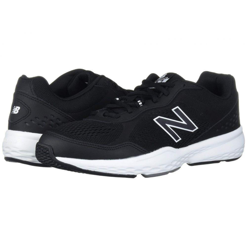 ニューバランス New Balance メンズ ランニング・ウォーキング シューズ・靴【517v2】Black/White